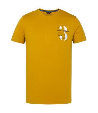 Short sleeve r-neck single jersey Golden Yellow PTSS211520