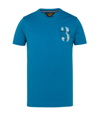 Short sleeve r-neck single jersey Imperial Blue PTSS211520