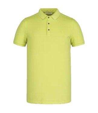 Short sleeve polo light pique stre Daiquiri Green CPSS211850