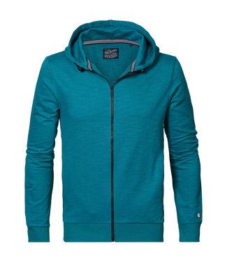 Petrol Industries Sweater hooded groen M-1010-SWH340
