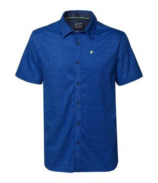 Petrol Industries Shirt SS blauw M-1010-SIS411