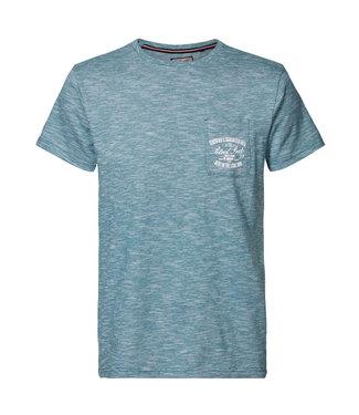 Petrol Industries T-shirt ss r-neck groen M-1010-TSR679