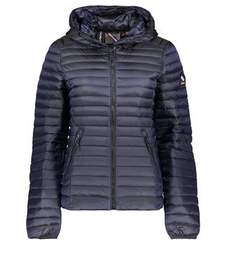 Superdry Core down donkerblauw W5010128A