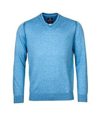 Baileys V-neck pullover blauw 118109