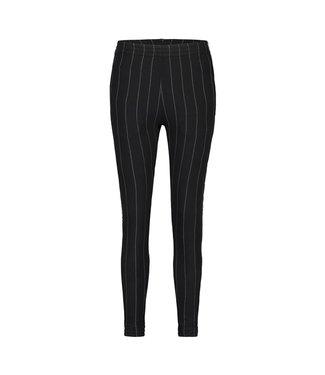 PENN&INK N.Y Trousers stripe zwart W19F622