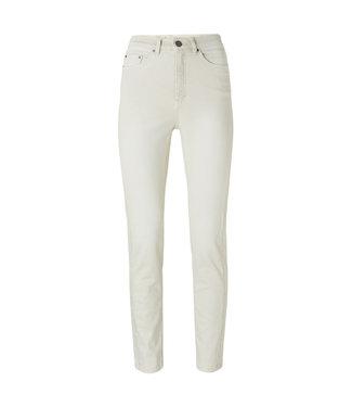 Yaya High waist straight denim Bone White 1201126-112