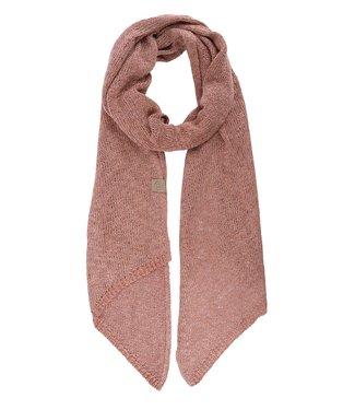 Zusss Gebreide sjaal roze Gebreide sjaal