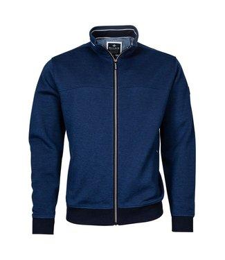 Baileys Sweat cardigan blauw 112205