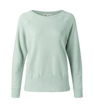 Yaya Pleated sweater powder blue 1009431-113