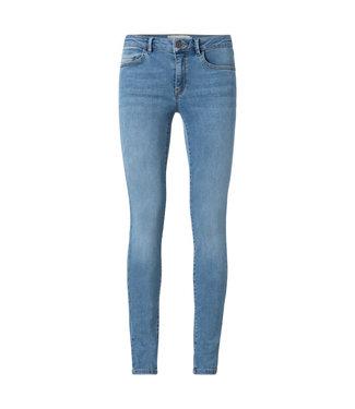 Yaya Skinny mid waist denim light blue denim 120103-113