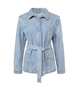 Yaya Denim jacket light blue denim 151134-113