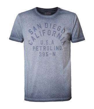 Petrol Industries T-shirt ss r-neck grijs M-1010-TSR629