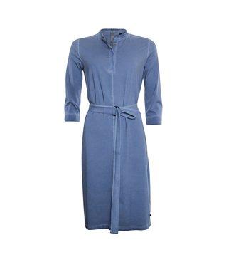 Poools Dress cold wash blauw 113238