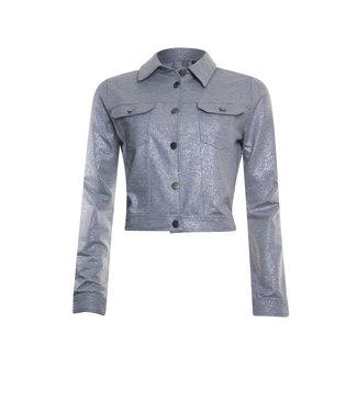 Poools Jacket foil grijs 113181
