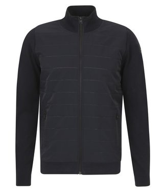 Zip jacket cotton polyamide Sky Captain VKC212354
