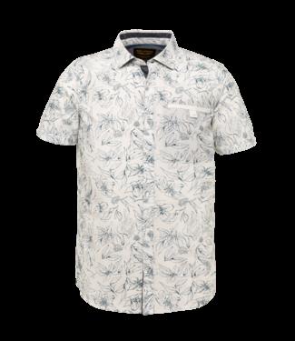 Short Sleeve Shirt Poplin with ao Bright White PSIS212253
