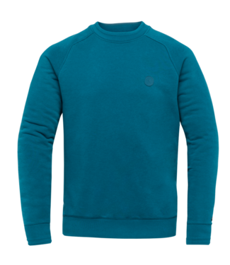 R-neck terry sweat Ink Blue CSW212410