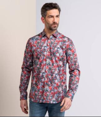 Long Sleeve Shirt Print on fine po Molten Lava VSI211202