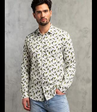 Long Sleeve Shirt Print on Structu Mercury CSI211214