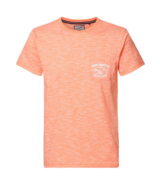 Petrol Industries T-shirt ss r-neck oranje M-1010-TSR679