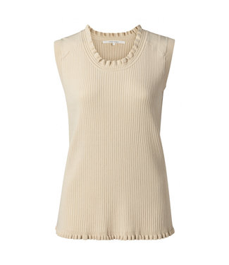 Yaya Ruffle neckline sweater **00 1000425-113