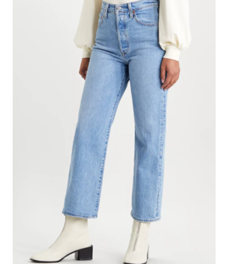 Levi's Ribcage straight ankle lichtblauw 72693-0052