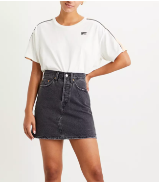Levi's Hr decon icnic bfl skirt antraciet 77882-0018