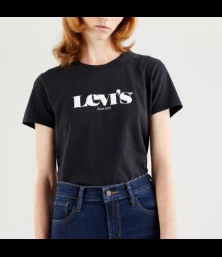 Levi's The perfect tee zwart 17369-1250