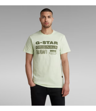 G-Star Originals hd graphic r t lichtgroen D19845-336-C450