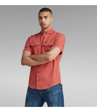 G-Star Marine service slim shirt rood D19751-7647-C486