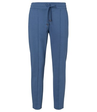 Yaya Jersey tailored trousers ENSIGN BLUE 121955-014