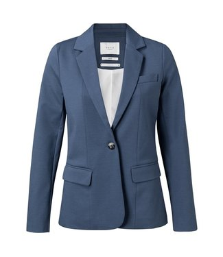 Yaya Jersey tailored blazer ENSIGN BLUE 150953-014