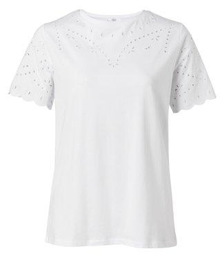 Yaya Cotton T-shirt **00 1919136-014