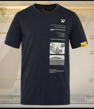 Short sleeve r-neck XV stretch jer **00 PTSS211587
