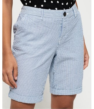 Superdry City chino short blauw W7110007A