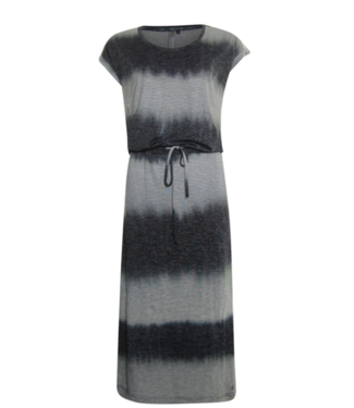 Poools Dress long zwart 023118