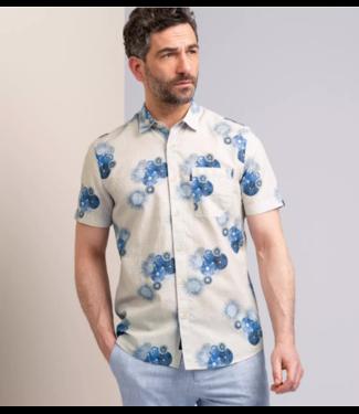 Short Sleeve Shirt Print on cotton **01 VSIS213240