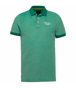Short sleeve polo pique all over p Deep Green PPSS203868