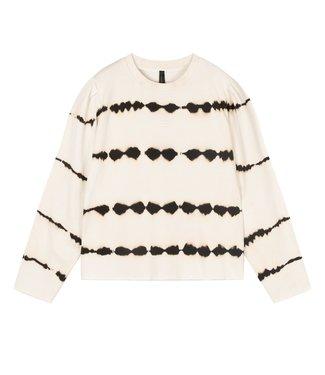 10Days Butterfly sweater tie die off white 20-804-1202