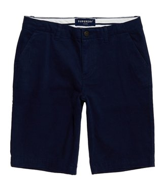 Superdry City chino short donkerblauw W7110007A