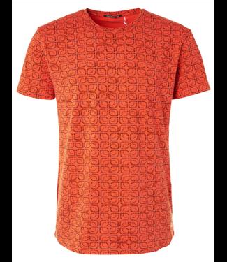 No Excess T-shirt s/sl, R-Neck, AO Printed ga Papaya 96340409