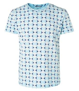 No Excess T-shirt s/sl, R-Neck, AO Print, ins Sky 96340508