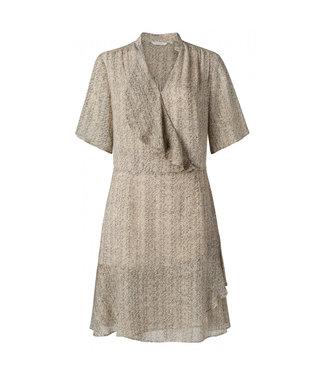 Yaya Printed short ruffle dress **00 1801328-113