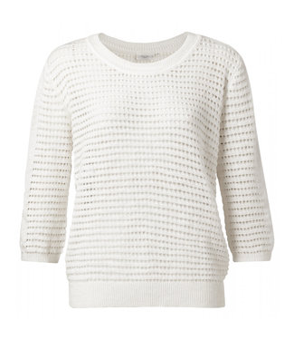 Yaya Structure knitted sweater **00 1000288-114