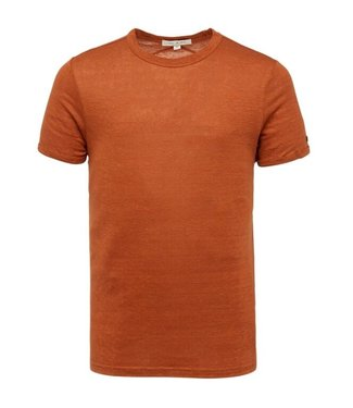 Short sleeve r-neck slim fit linen **00 CTSS213551