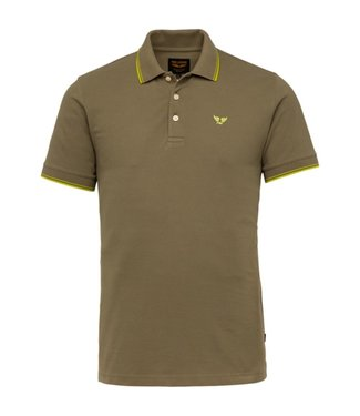 Short sleeve polo stretch pique **02 PPSS214871