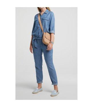Yaya Chambray jumpsuit with pockets **00 124122-014