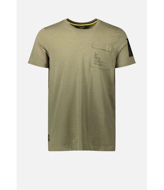 Short sleeve r-neck cotton elastan **00 PTSS214554