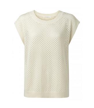 Yaya Mesh stich sweater **00 1000444-115