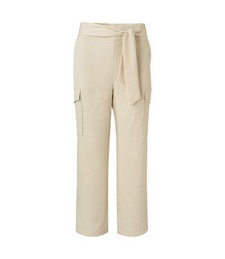 Yaya Satin trousers with pockets **00 1201149-115